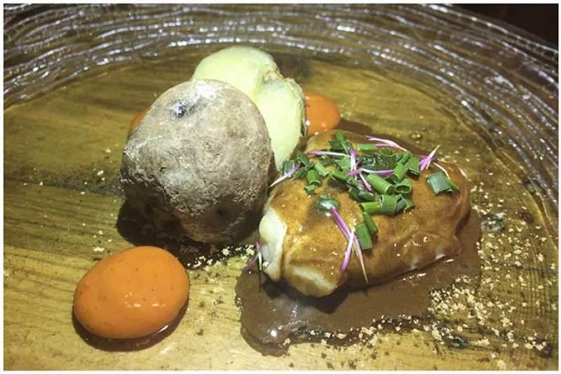 Kokotxa sancotxada Restaurante Gofio Madrid