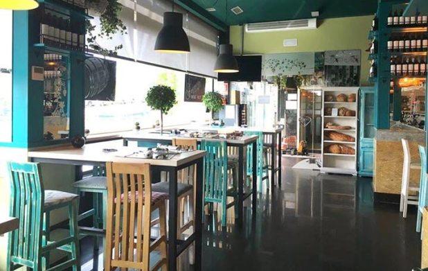 Zona de picoteo Restaurante La Dehesa de Las Tablas