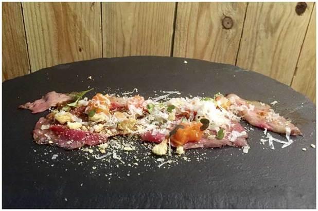 Roastbeef de txuleta a la brasa Restaurante Gofio Madrid