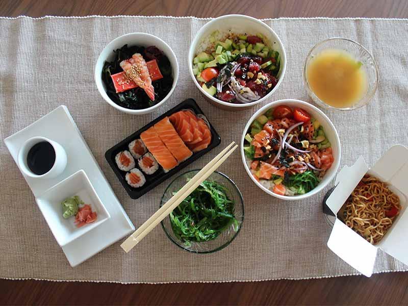 gosushing comida japonesa a domicilio