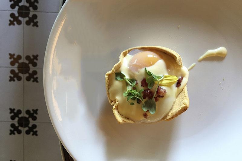 Huevos Benedictine Brunch de Only YOU Hotel Atocha