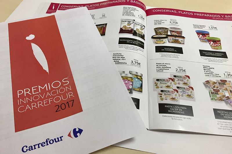 Premios Innovacion Carrefour 2017 Productos