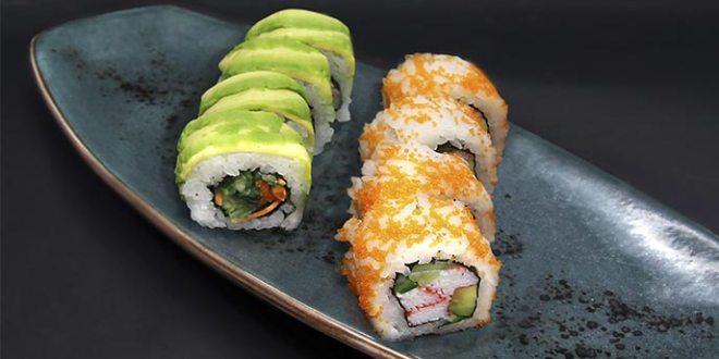 Restaurante Sky Sushi and Ramen Bar calle Recoletos 11 Madrid