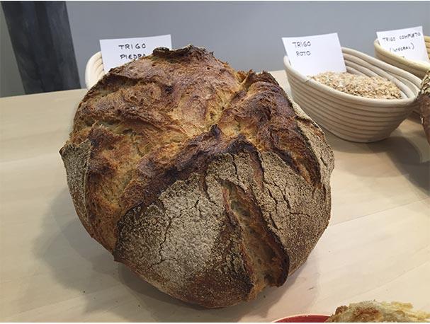Panaderia Panod pan de trigo molido a la piedra