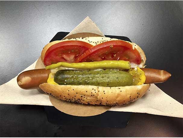 Perrito caliente LABRADOR El Perro Salvaje Hot Dogs Madrid