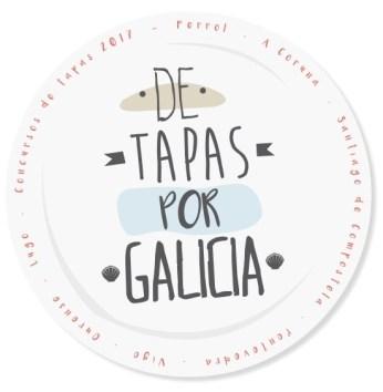 De Tapas por Galicia 2017 Logotipo