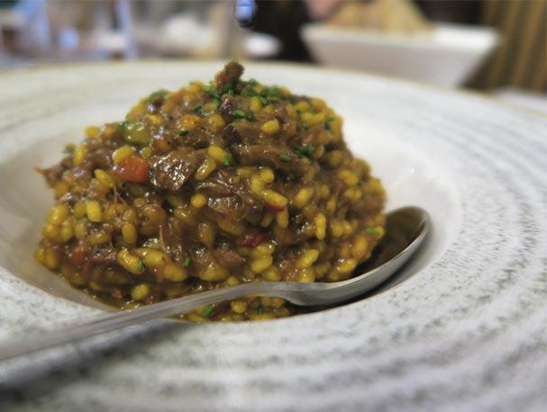 Arroz meloso con rabo de toro Lambuzo nuevos platos de cuchara