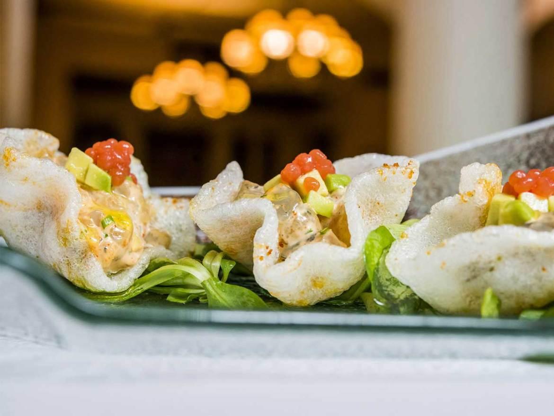 GOIZEKO KABI Tartar de langostino marinado estilo Goizeko en su crujiente