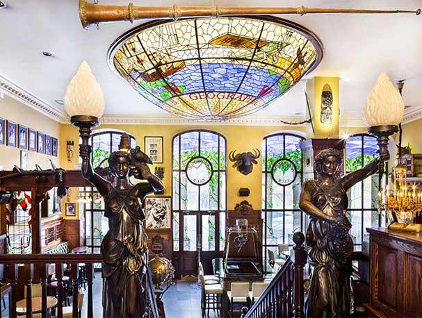 The Geographic Club calle Alcala 141 Madrid entrada