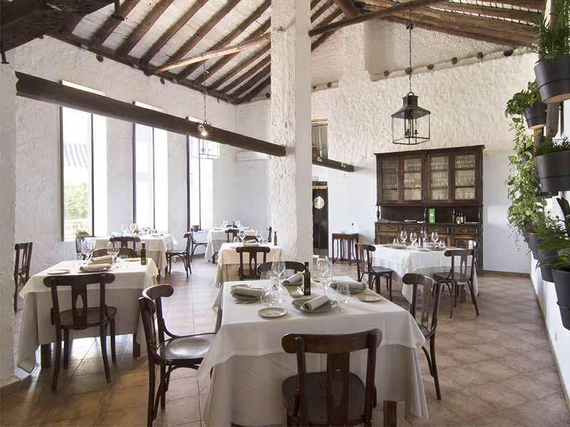 Restaurante Casa Elena en Toledo comedor
