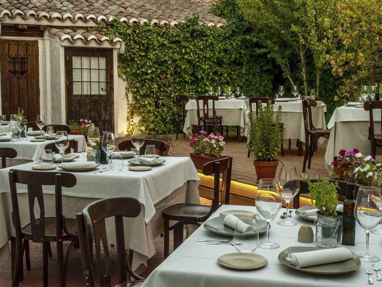 Restaurante Casa Elena en Toledo Terraza interior