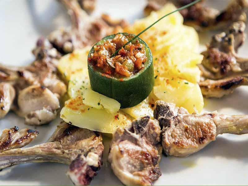 restaurante San Francisco El Pardo chuletillas de cordero