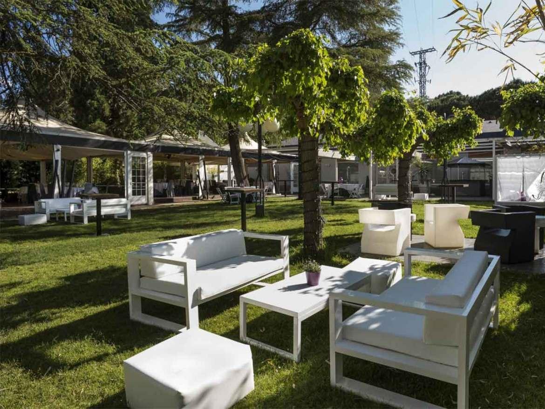 restaurante San Francisco El Pardo terraza