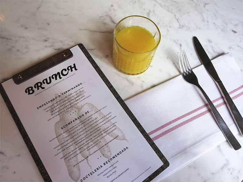 Brunch de Lady Madonna Carta y Menu