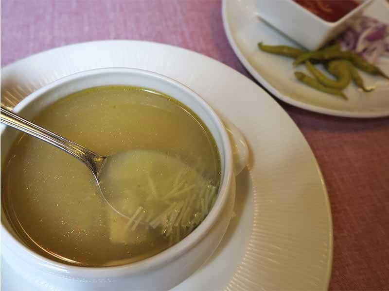 Restaurante Los Galayos Plaza Mayor Sopa de cocido