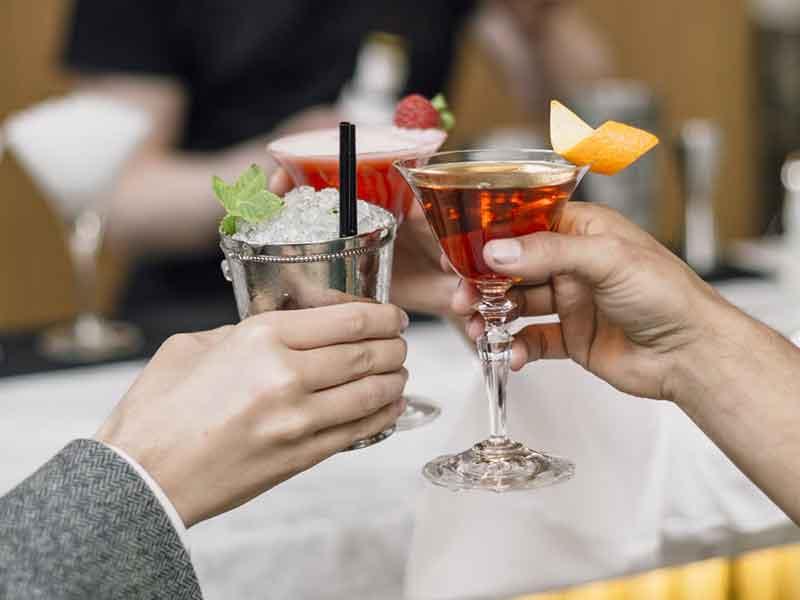 Garra Bar en el Hotel Barcelo Torre de Madrid Cocteleria