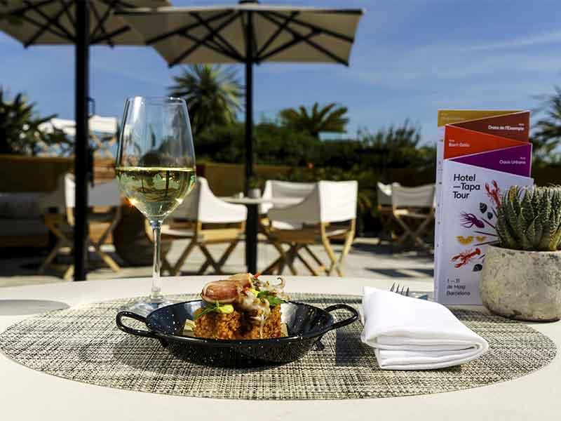 Hotel Tapa Tour 2018 Mejores Hoteles en Madrid y Barcelona Tapa maridada con vino