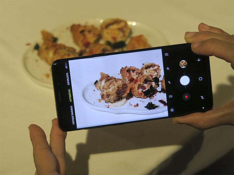 Samsung Galaxy S9 Fotografia Gastronomica Bodegas Izadi BIBO Dani Garcia Pablo Gil fotrografo
