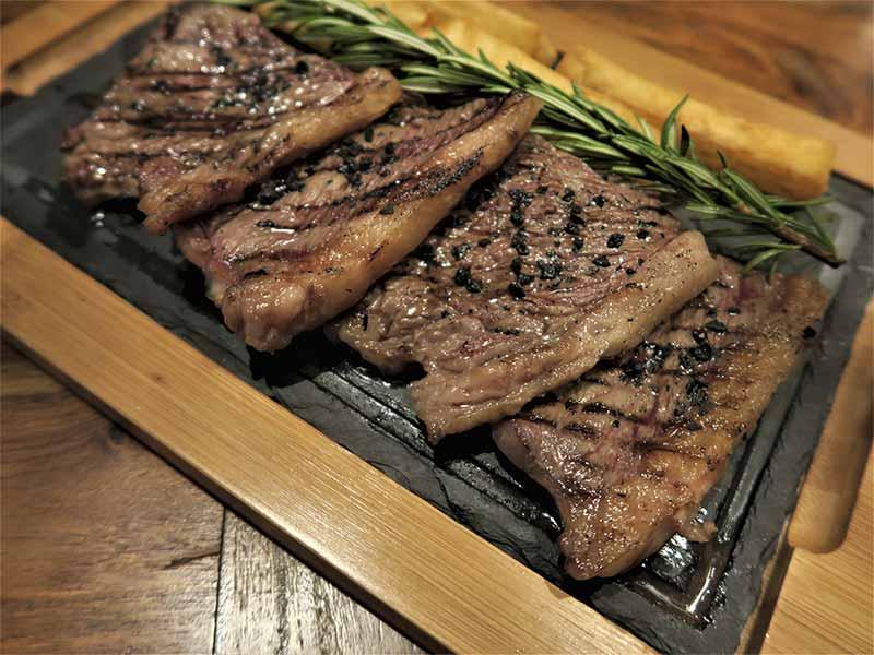 Carne picaña Restaurante Nomada Madrid