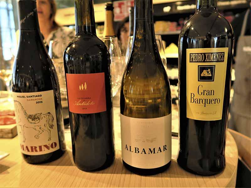 Sibarium Delicatessen Vinos de LAVINIA