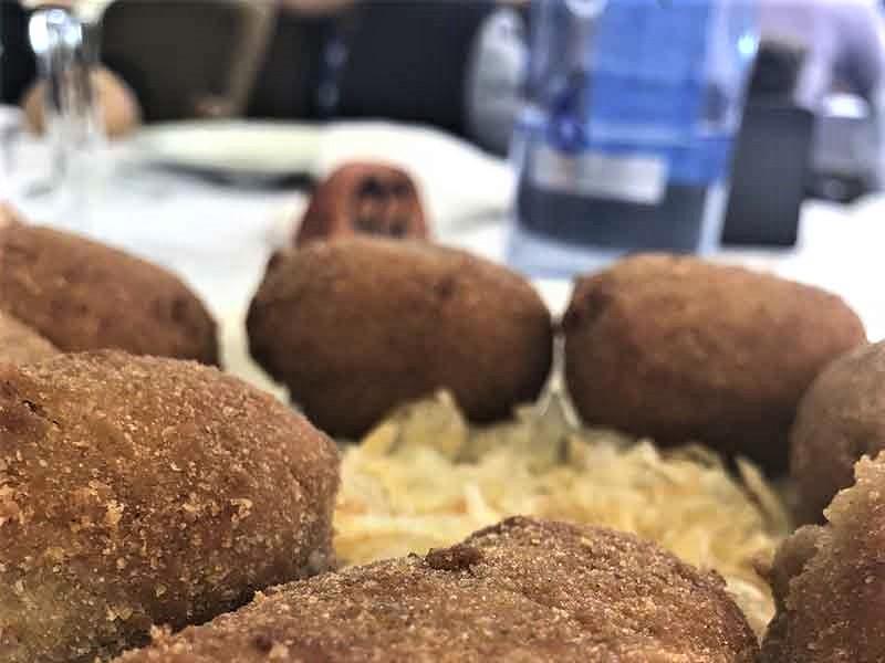 Mejores Croquetas de Madrid Restaurante El Pinar