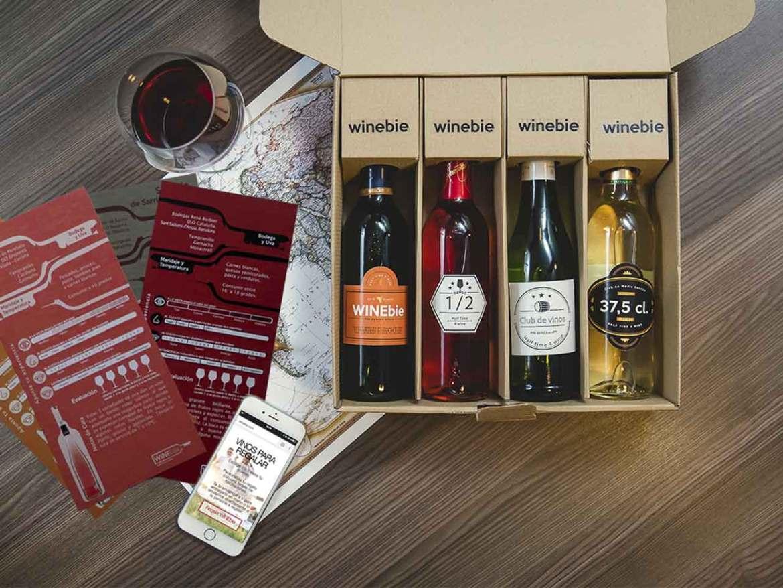 WINEbie club de vinos para novatos