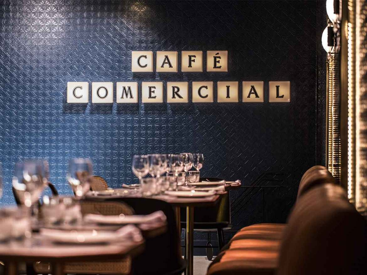 Cafe Comecial Madrid