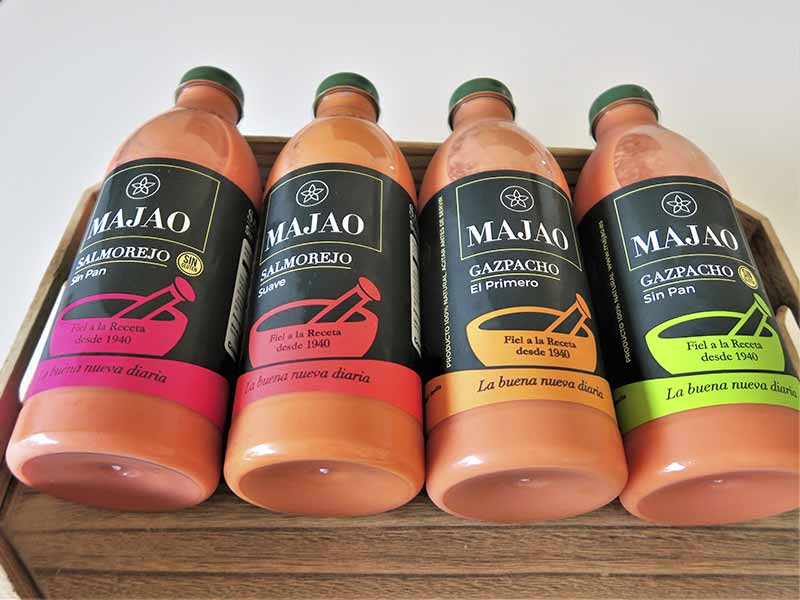 Gazpacho andaluz Majao variedades