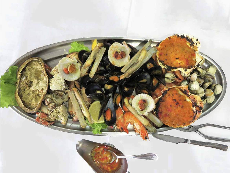 Restaurante Tasmallo A Guarda Pontevedra Mariscada