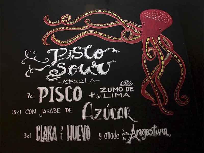 Restaurante Callao 24 Vallecas Pisco Sour