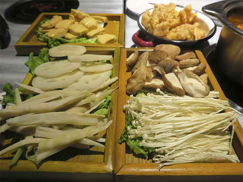 Hot Pot restaurante chino Hainao guarnicion