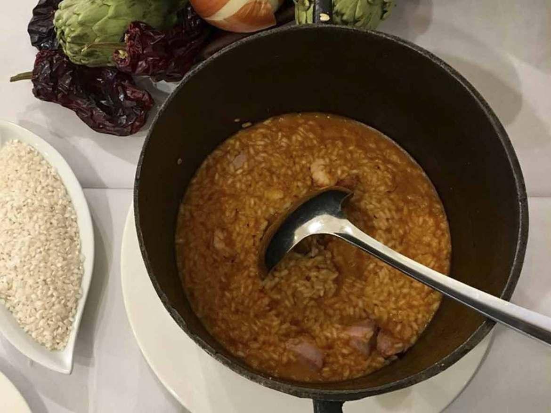 IV Ruta de la paella y el arroz 2018 arroz caldoso