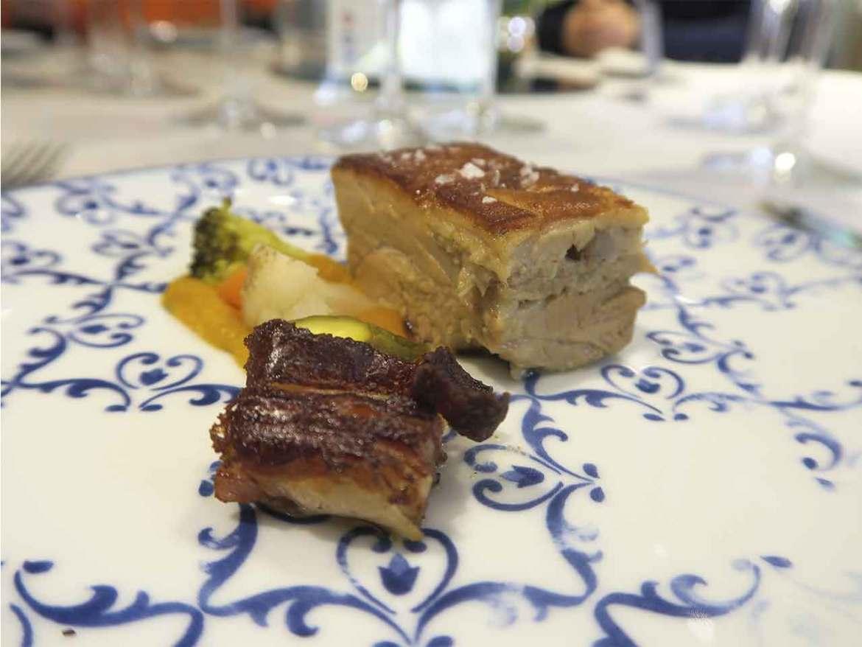 Restaurante Haroma Cochinillo asado