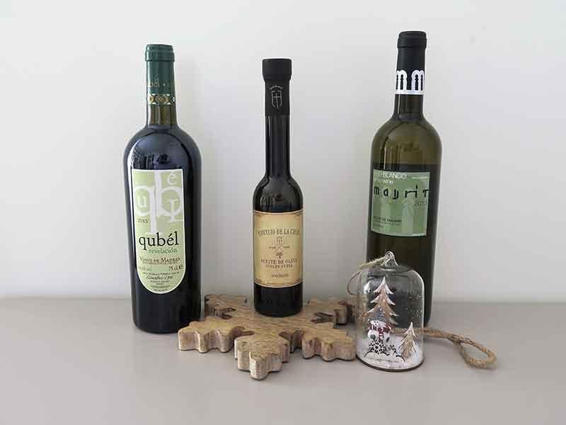 Regalos gourmet baratos 2018 Vinos ecologicos Quebel Aceite ecologico