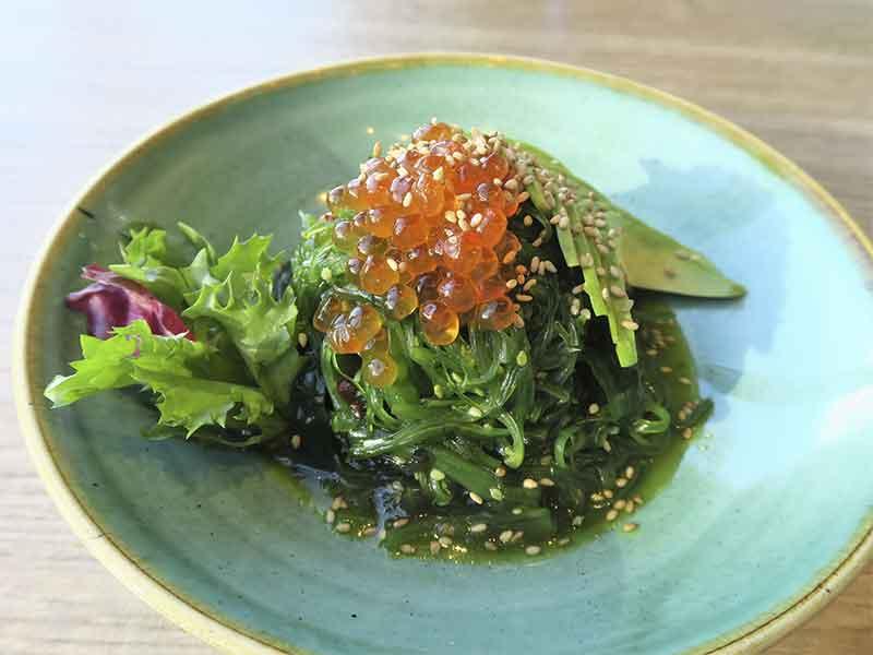 Restaurante Miss Chen en Valdebebas Madrid Ensalada de alga wakame
