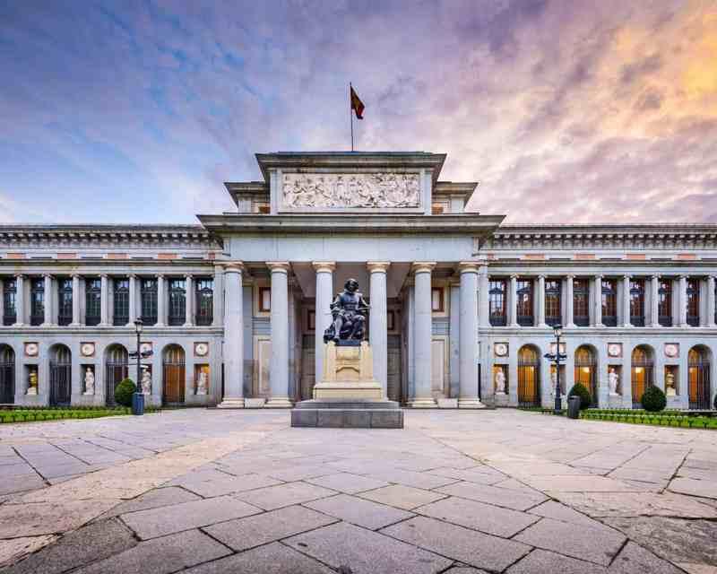 Comer cerca de los Museos en Madrid Museo del Prado