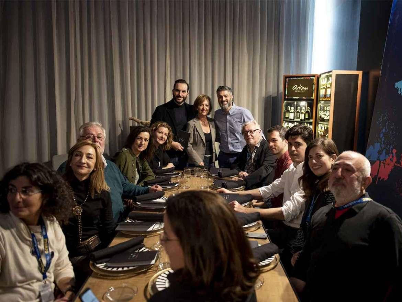 Pernod Ricard Artisian Selection Asistentes a la presentacion