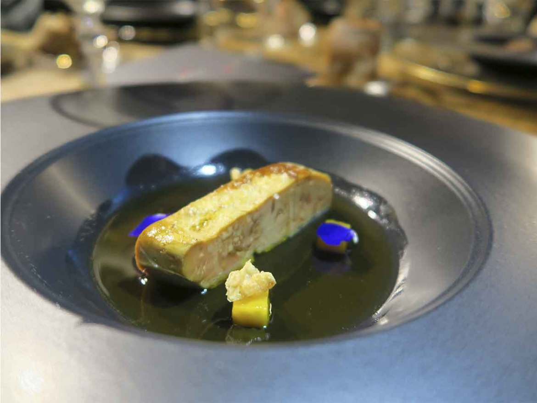 Pernod Ricard Artisian Selection Foie escabechado Mario Sandoval