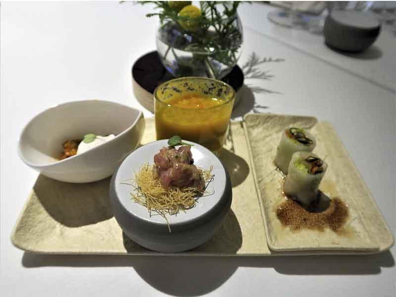 Alta Cocina Saludable restaurante Albora Aperitivos