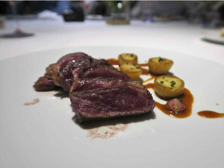 Alta Cocina Saludable restaurante Albora Lomo de vaca