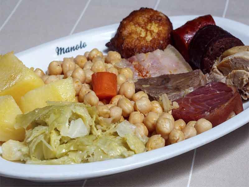 IX Ruta del Cocido Madrileño Plato de cocido