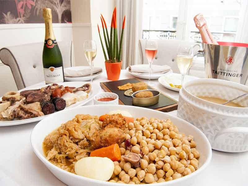 IX Ruta del Cocido Madrileño Restaurante La Clave