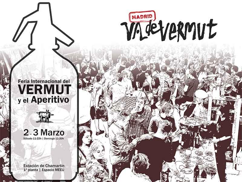 Madrid Vadevermut 2019 la Feria Internacional del Vermut y el Aperitivo Cartel