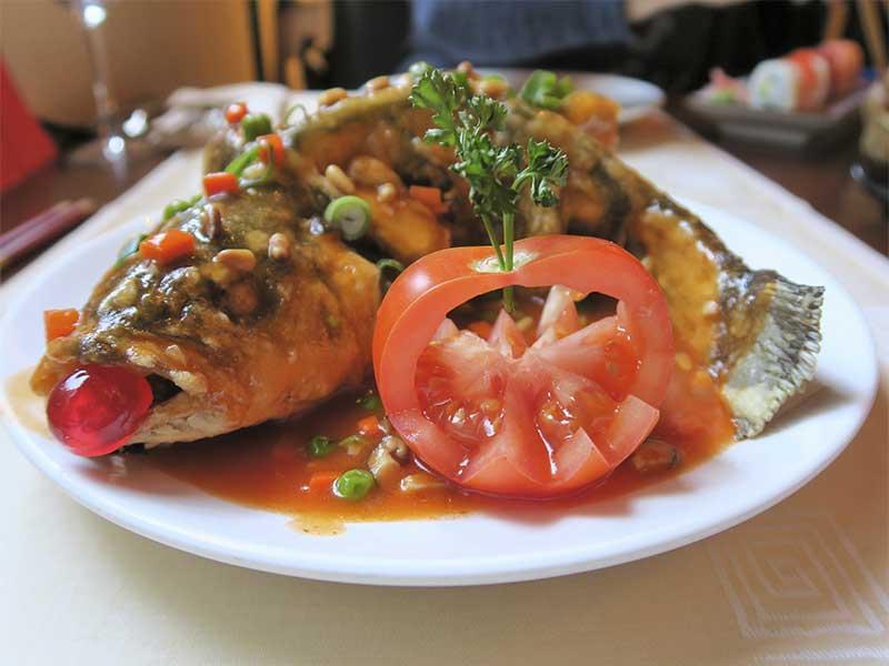 Restaurante oriental Asia Te Lubina