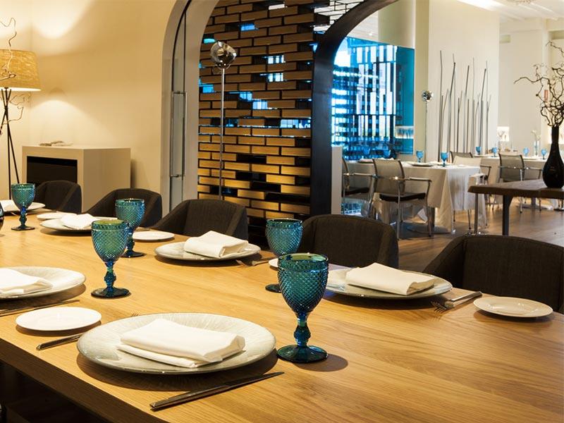 Restaurante Kalma Madrid Marriott Auditorium Hotel restaurantes para celebrar el dia del padre en madrid