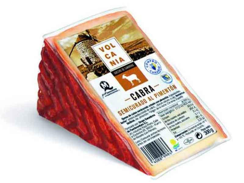 Tres mejores quesos del mundo Lidl Queso Volcania semicurado al pimenton