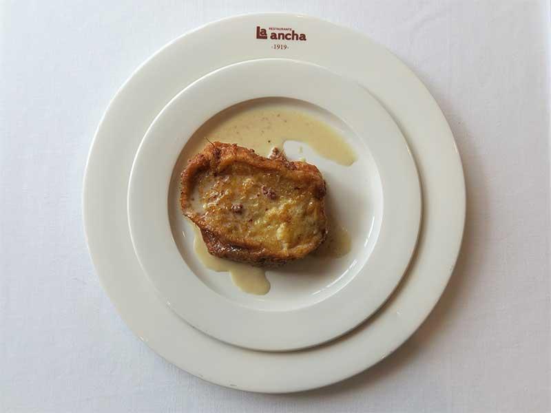 Restaurante La Ancha Zorrilla Torrija