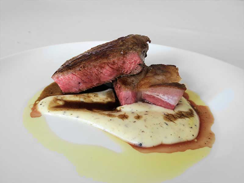 Restaurante Espacio 33 Ternera Carne de La Finca