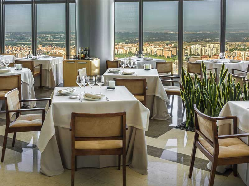 Restaurante Espacio 33 Madrid