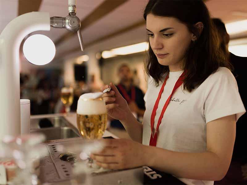 Tiraje de cerveza belga